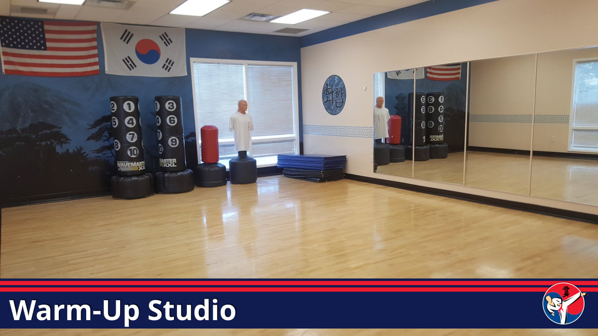 Warm Up Martial Arts Small Studio