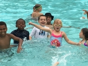 water park martial arts class